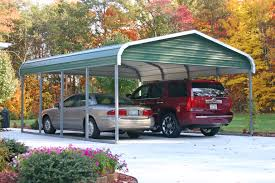 Regular Metal Carport with Gable Ends 22 x 21 x 8