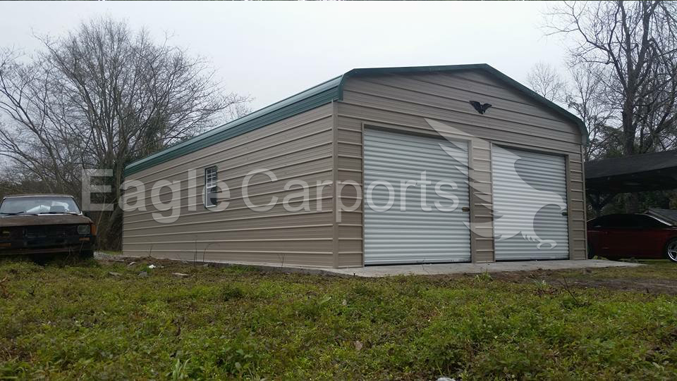 Regular Style Metal Garage Workshop 20 x 36 x 9