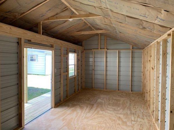 Storage with Porch Interior