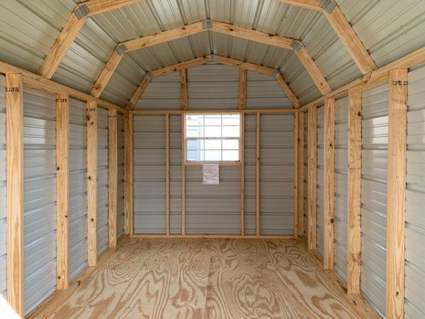 Portable Storage Shed Interior
