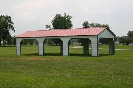 Vertical Metal Pavilion 18 x 41 x 9