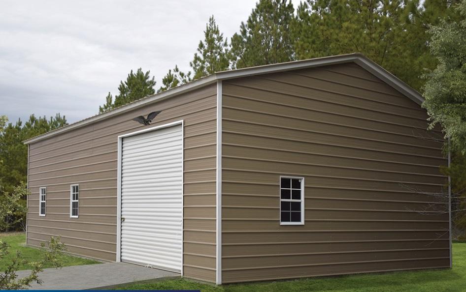 Vertical Metal Garage Workshop 24 x 36 x 9